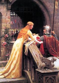 'God Speed' Edmund Blair Leighton, 1900 |