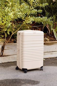 The Check-In Roller in Beige – Béis Travel Carry On Size, Airport Security, Baggage Claim, The Expanse, Clothes For Sale, Just In Case, How To Look Better, Check, Shay Mitchell