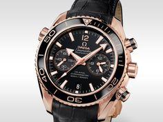 OMEGA Uhren: Die OMEGA Seamaster Planet Ocean Ceragold-Kollektion