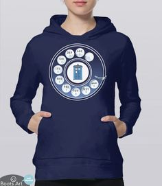 """Call the Doctor"" Funny Doctor Who Hoodie 