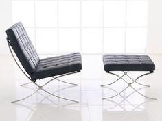 ミース・ファン・デル・ローエ Barcelona Chair & Ottoman