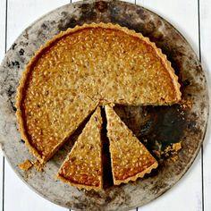 Pine Nut Dulce de Leche Tart - Gluten Free