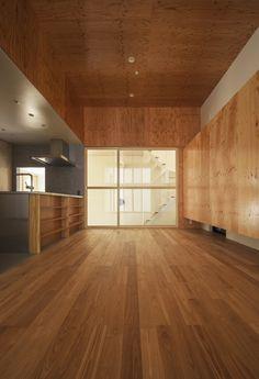 都市型狭小住宅の代表作! WORKS 注文住宅.狭小住宅なら大阪の建築設計事務所 Coo Planning