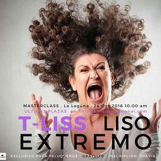 Eres #peluquero #peluquera o tienes una #peluquería?  Inscríbete ahora gratis por mensaje directo ULTIMAS PLAZAS! para  nuestro T-LISS LISO EXTREMO  El próximo lunes 24 de octubre a las 10:00 am (en #Tenerife) nuestro técnico de #peluquería ofrecerá una Master Class para profesionales del sector donde podrás descubrir ver y sentir la experiencia de nuestro sistema progresivo de #alisado T-LISS.  #Tenerife #SantaCruzdeTenerife #LaLaguna #LaOrotava #PuertodelaCruz #Candelaria #Adeje #Arona…
