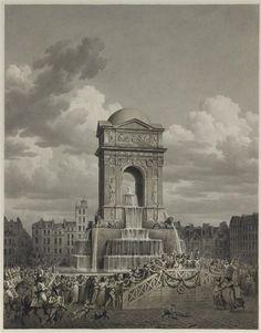 Grand Palais, Louvre, Monuments, Building, Travel, Painting, Architecture, Old Paris, Fresco