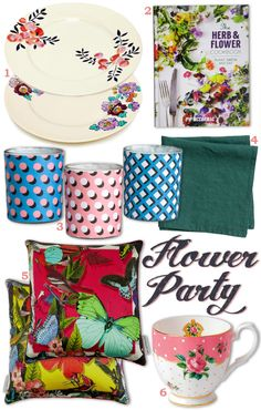 Jenni's Table: Flower Party shopping guide