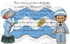 Bandera Argentina Origami Envelope, Smurfs, Disney Characters, Fictional Characters, Preschool, Education, History, Disney Princess, Challenges