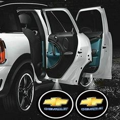 2pcs Universal Wireless Car Projection Cree LED Projector Door Shadow Light Welcome Light Laser Emblem Logo Lamps Kit (Chevrolet). For product info go to:  https://www.caraccessoriesonlinemarket.com/2pcs-universal-wireless-car-projection-cree-led-projector-door-shadow-light-welcome-light-laser-emblem-logo-lamps-kit-chevrolet/