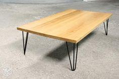 Table basse bois massif metal épingle sur mesure Ameublement Paris - leboncoin.fr