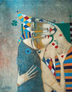 Peter Mitchev was born on May 1955 in Pleven, Bulgaria. He started painting at the age of 15 and is an autodidact artist. Modern Art, Contemporary Art, Pottery Painting Designs, Political Art, Art For Art Sake, Schmuck Design, Whimsical Art, Portrait Art, Creative Art