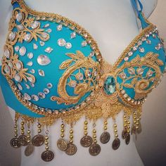Jasmine By Revolt Couture Perfect for any dance competition! Handmade from quality products and materials, all Revolt Couture dance wear is Rave Costumes, Masquerade Costumes, Belly Dance Costumes, Cosplay Costumes, Rave Gear, Kinds Of Dance, Edm Outfits, Vintage Hippie, Beautiful Costumes