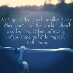 Neil Young + Solitary sunset bike rides = total bliss