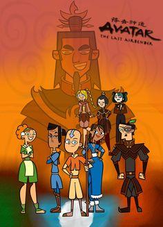 Avatar the last airbender drama island addition Korra Avatar, Team Avatar, Drama Total, Pixar, O Drama, Avatar The Last Airbender Art, Cartoon Movies, Legend Of Korra, Drama Series