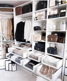Walk In Closet Design, Bedroom Closet Design, Closet Designs, Bedroom Decor, Bedroom Ideas, Ikea Bedroom, Walk In Closet Ikea, Ikea Pax Closet, Master Bedroom