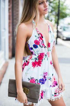 The Love Club Floral Dress