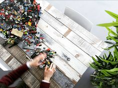 made #table with leftover #interior #wood material and #play with #lego #block #healing #mywork #myoffice #upcycle #legostagram #interiordesign #toy #gardening #인테리어 하다 남은 #나무 로 #테이블 #만들기 #레고 #놀기 #사무실 #업사이클링 #재활용 #인테리어디자인 #인테리어소품 #가드닝 #장난감 by keunha_kim_