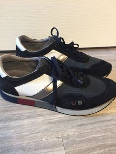 207d9aa05b084 4 US CESARE PACIOTTI Men Sneaker Shoe leather Suede Navy UK 9 US 10   fashion  clothing  shoes  accessories  mensshoes  casualshoes (ebay link)