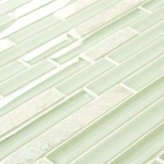 Merola Tile Tessera Piano Ming 11-3/4 in. x 11-7/8 in. x 8 mm Glass and Stone Mosaic Tile-GITTPNMG - The Home Depot
