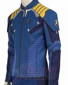 Star Trek Beyond Captain James Kirk Chris Pine Blue Uniform Jacket-WilliamJacket Star Trek Cosplay, Male Cosplay, Cosplay Costumes, Star Trek Jacket, Power Rangers, Star Trek Beyond, Star Trek Starships, Star Trek Movies, Star Wars