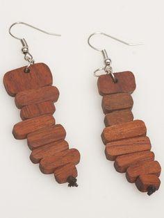 Wood Sticks Earrings
