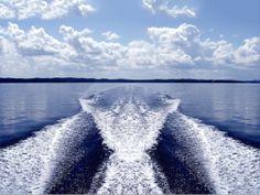 Image result for ski boat wake