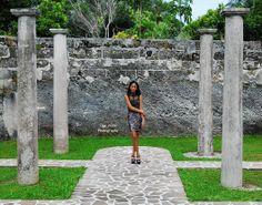 ink Virgin photoshoot at Fort Hamilton, Bermuda. Model: Alize. Photo credit: Taja Nicole Photography.
