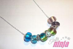 Super easy DIY necklace!
