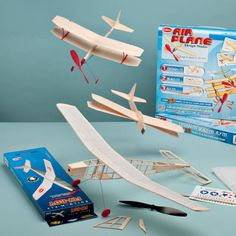 USA-Made Balsa Airplane Kits by Garrett Wade