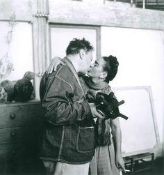 Muray, Nickolas - Diego Rivera & Frida Kahlo (1938)