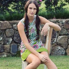 A perfect summer style and print... Our Sixties Tunic in the Sara Print. Wear it as a dress or a layer over trousers... www.mahashe.com/sixties-dress-sara-green/ Trousers, Tunic, Green, Instagram Posts, Summer, How To Wear, Dresses, Style, Fashion