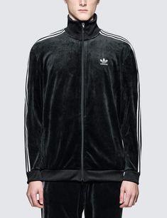 adidas Originals CLR84 Velour Track Top | scotts Menswear