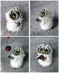 Little Owl (SOLD) by moushugah.deviantart.com on @deviantART