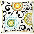 Jiti Pillows 'Ply Confetti' 20-inch Square Cotton Decorative Pillow   Overstock.com