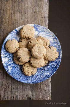 Biscotti alla pasta di sesamo #tahini #latartemaison