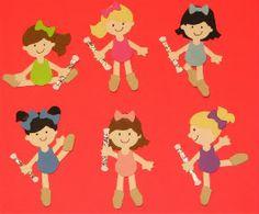 Cute Baton Twirlers...