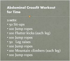 going through crossfit ab workouts. rarely see a crossfitter w/o crazy abs, looking for an ab workout I can do before I get into crossfit Crossfit Abs, Crossfit At Home, Fitness Tips, Health Fitness, Fitness Plan, Woman Fitness, Fitness Goals, Female Fitness, Fitness Quotes
