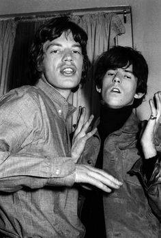 Mick Jagger and Keith Richards - The Rolling Stones