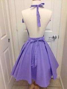 Rapunzel costume apron dress