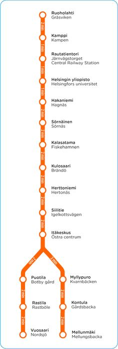 Metro  Tram routes and stops