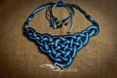 GuIneveres  necklace  macrame necklace celtic knots by Splatane, €19.00