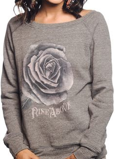 Womens Sweater, Support Sevenly & Rise above