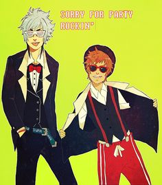 Mordecai and Rigby [Gijinka]- lookin' fly