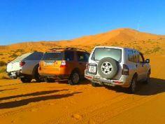 Los vehiculos de la expedición al #desiertotrip2012