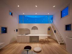 《日本建築Case Studies》百變光舞台之家,樂當城市裡的海棉寶寶 @ 綠‧建築家 :: searchouse.net