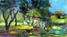 Landscape, Corsica / Henri Matisse - 1898
