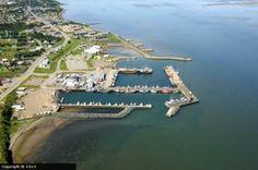 Caraquet Harbour in Caraquet, New Brunswick, Canada