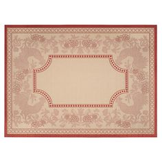 Safavieh Courtyard Rooster Indoor Outdoor Rug, Multicolor