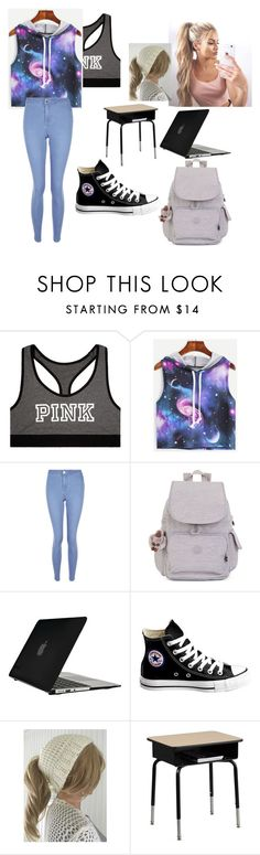 """Untitled #71"" by mads-p on Polyvore featuring Victoria's Secret, New Look, Kipling, Speck, Converse and Flash Furniture"