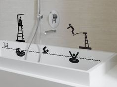 Stickers salle de bain fanastick w641h478