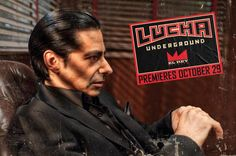 Dario Cueto - Lucha Underground Lucha Underground, Mexican American, Chicano, Mma, Wrestling, Movie Posters, Fictional Characters, Lucha Libre, Empire
